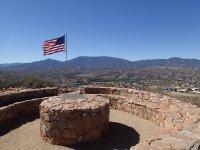 Bulls Eye trail loop (Round Mountain Park)