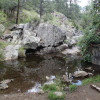 Pond along the Goldwater Lake trail