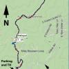 Isabella trail: Map