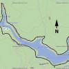 Map: Woods Canyon Lake