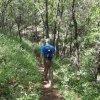 Hiking on the Smith Ravine trail