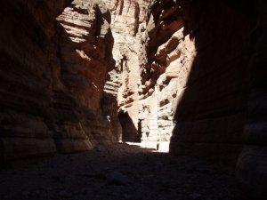 Shadows in Tuckup canyon