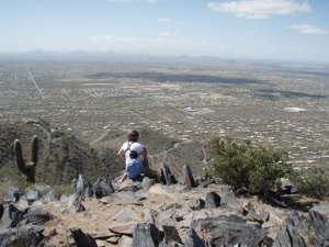 Views from Black mountain trail