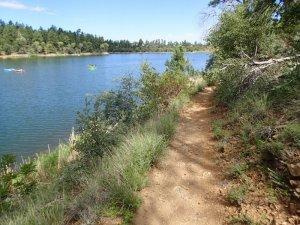 Hiking the Lynx lake trail