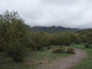 Hiking on the Quartz trail