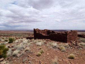 One of the many Ancestral Puebloan sites in Wutpatki National Monument