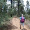 Hiking along the Buena Vista Trail