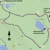 Anderson Mesa: Map