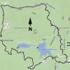 Feldmeier-Goldwater Lake loop: Map