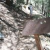 The start of the A. B. Young trail