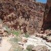 Hiking in Havasupai canyon