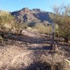 Views of the Superstition Wilderness along the Cougar trail