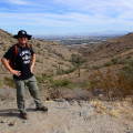 Hiking on the Javelina trail