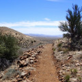 Hiking along the Black Canyon trail
