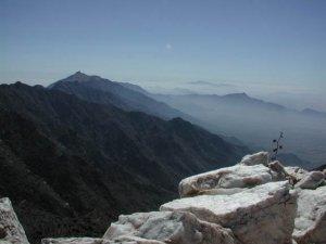 Views from the top of Quartz peak