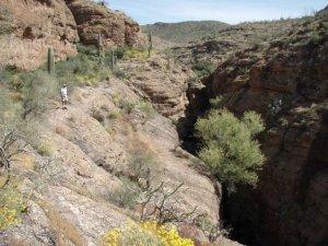 Apache trail canyon