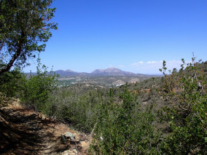 Granite mountain as seen from the Badger mountain trail
