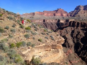 Big views along the Tonto trail